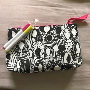 Handbags - Makeup bag with fabric markers